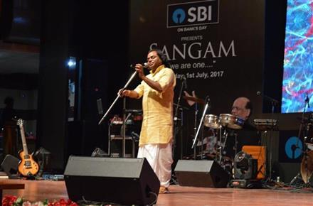 State Bank Of India Organised A Hasya Kavi Sammelan On The Occasion Of Its Foundation Day.